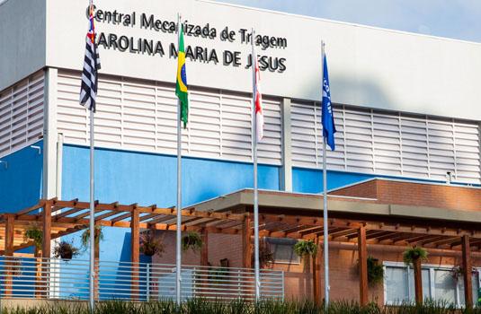 Central mecanizada de triagem, São Paulo - SP.