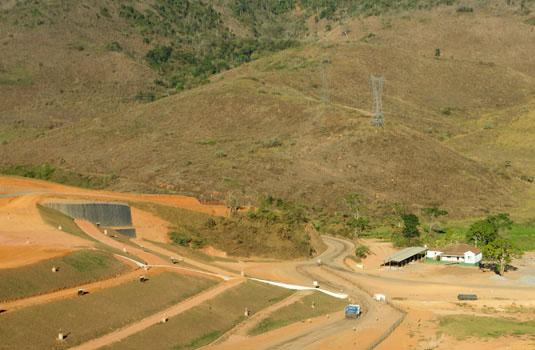 Centro de tratamento de resíduos em Juiz de Fora - MG.